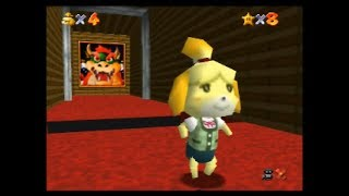 Isabelle 64 - SM64 Hack (Real N64 Capture)