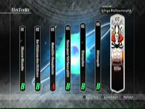 Bleach soul resurreccion PS3 [Ichigo vs Ulquiorra]