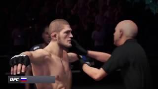 Conor McGregor vs. Khabib Nurmagomedov UFC3 22th time