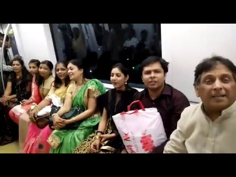 Not ashamed of the Gospel.. Singing and sharing Christ in Mumbai metro. ANIL KANT