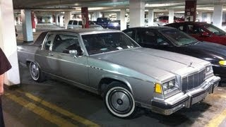 Driving the 1983 Buick Electra Park Avenue