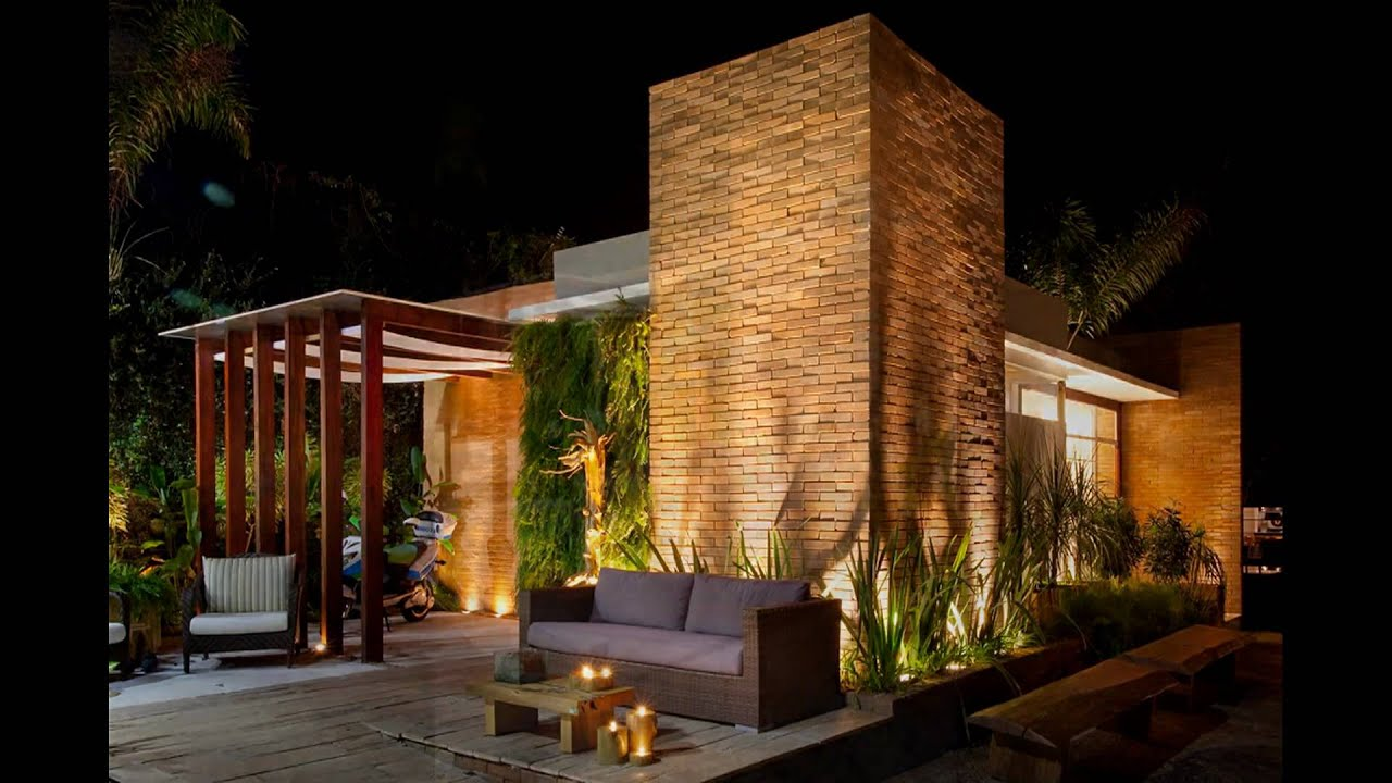 TV Ecolaria: Uma casa de luxo ecológica na Mostra Ecodecor Campinas  #485C1B 1920x1080 Banheiro Com Tijolo Ecologico