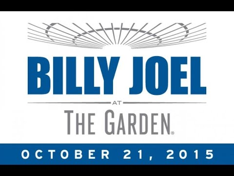 """Billy Joel: The Garden II - The VIP Experience (""""VIP at MSG"""", October 21st, 2015)"""