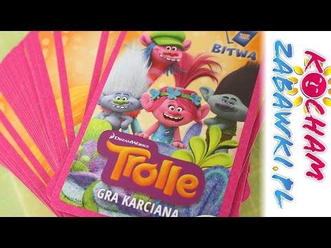 Karty do gry - Trolle & Minionki & Gang Świeżaków - Bajki i gry dla dzieci