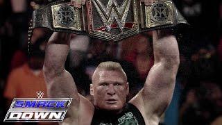 Brock Lesnar vs. Seth Rollins: The Road to Battleground: SmackDown, July 16, 2015