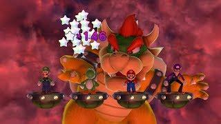 Mario Party 10 Mario Party #261 Yoshi vs Mario vs Waluigi vs Luigi Whimsical Waters Master Difficult