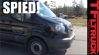 2017 Ford Transit Prototype Spied in the Wild? Almost Skunked But We Get Lucky!
