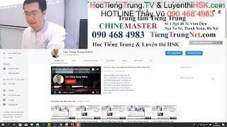 Lớp học tiếng Trung ở Hà Nội Khóa học tiếng Trung giao tiếp cơ bản Bài 26 Ngày 19-9-2018