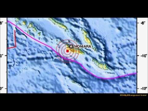M 6.5 EARTHQUAKE - SOLOMON ISLANDS 07/25/12