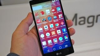 LG Magna Hands On Review - MWC 2015