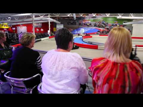 Staff meeting at the new K1 Speed in Arlington, TX