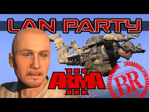 Battle Royale Arma III - Too Tactical - LAN Party