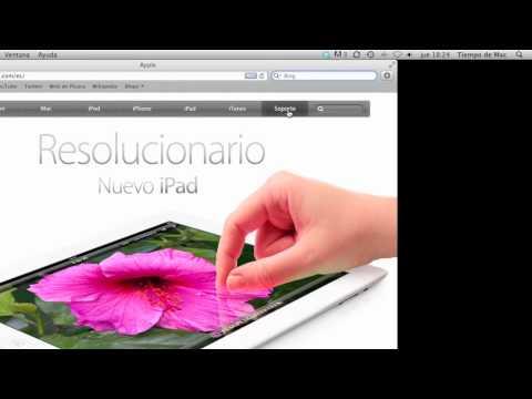 Busquedas en Internet con Safari