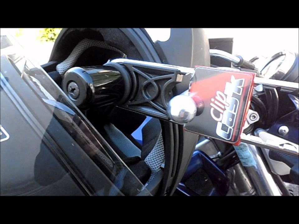 Clip cas 39 k antivol casque youtube - Casque moto course ...
