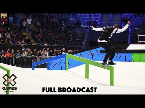 Men's Skateboard Street Elimination | X Games Norway 2019