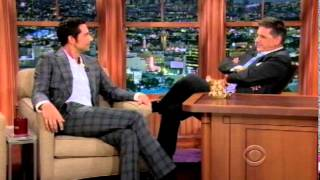 Zachary Levi On Late Show With Craig Ferguson