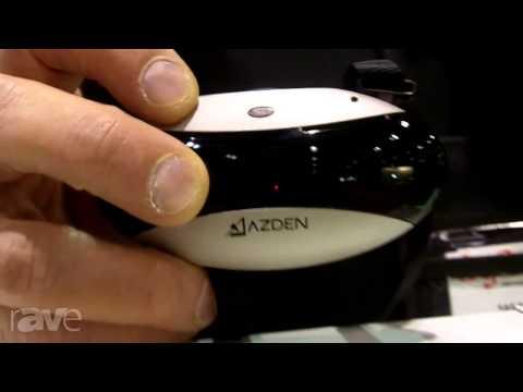 InfoComm 2013: Azden Demonstrates The IR-CSX