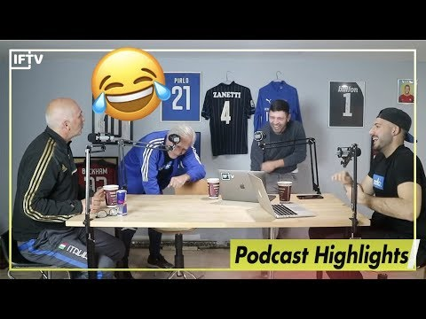 Gattuso inspired Romas comeback 😂 Funniest moments from our last podcast
