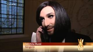 Conchita Wurst - Jean Paul Gaultier 28.1.2015