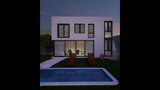 Vray | Overview Light exterior VrayLight dome HDRI