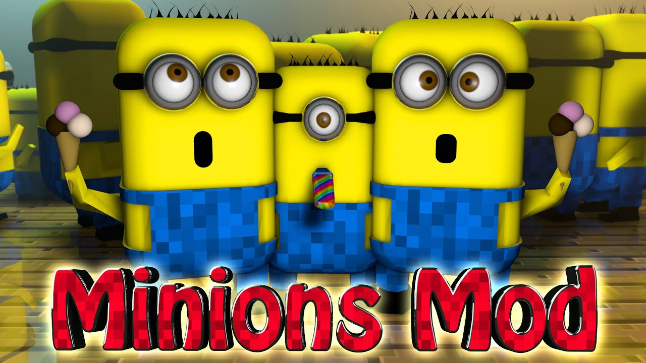 minecraft minions mod showcase minions movie