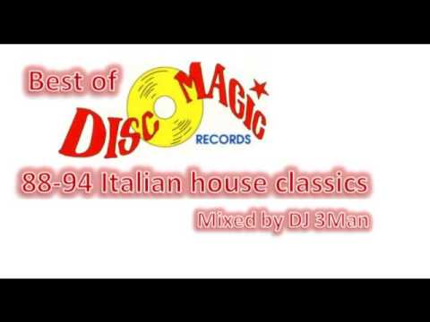 Best of Disco Magic records 88 - 94 Mixed by DJ 3Man
