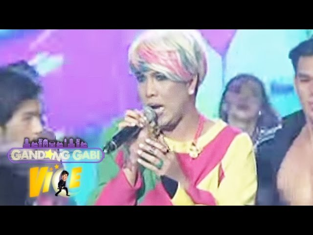 "Vice Ganda sings ""Wag Kang Pabebe"" on GGV"