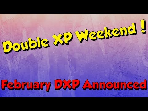 Double XP Weekend Announced & Tips! [Runescape 3] February 2018!