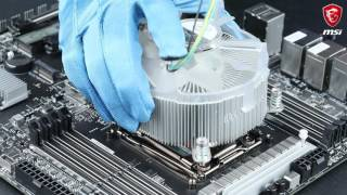 MSI® HOW-TO Install Intel LGA 2066 CPU