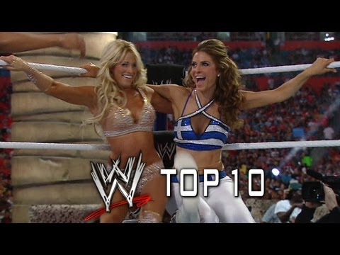 What made the Top 10 Diva Moments at WrestleMania?