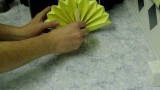 Origami Peacock (talk Thru) Paper Folding
