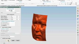 Rough Offset From Facet Model | Siemens NX