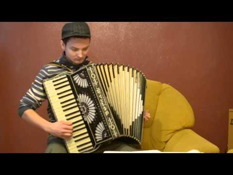 Polka Usia Siusia (tra Ra Ra Antek Na Harmonii Gra) Akordeon/accordion Cover Mateusz Lasek