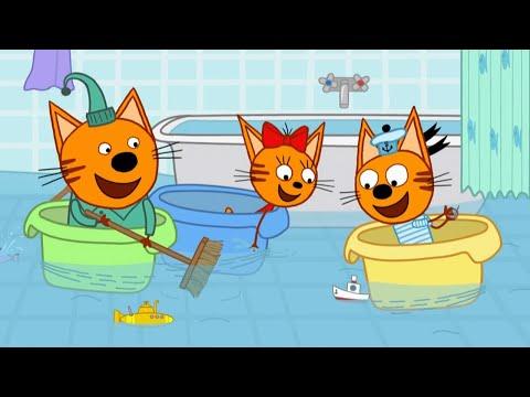 Три кота   Серия 129   Морские игры   Мультфильмы для детей 🐳🌊🐬