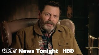 Nick Offerman Sets The Record Straight On Nick Offerman | Vicepedia (HBO)