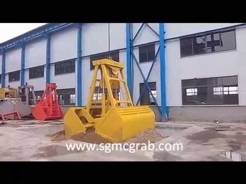 Radio Remote Control Grab | China Shanghai Global Machinery Co., Ltd (SGMC)