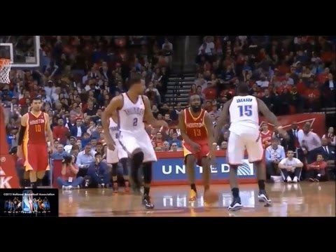James Harden Offense Highlights 2012/2013 Part 3