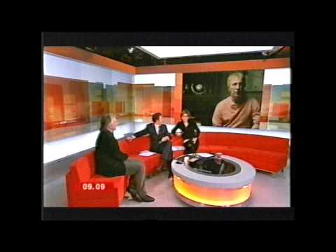 Snowcake - Alan Rickman interview on Breakfast TV
