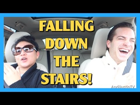 Falling Down the Stairs!
