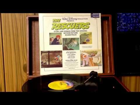 Walt Disney The Rescuers.....side 2 pt. 2 on vinyl record