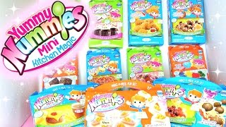 HUGE Yummy Nummies Mini Kitchen Magic DIY Candy Kit HAUL!