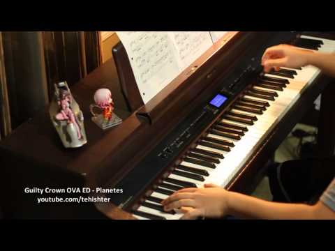 Guilty Crown OVA ED - Planetes (Piano Transcription)