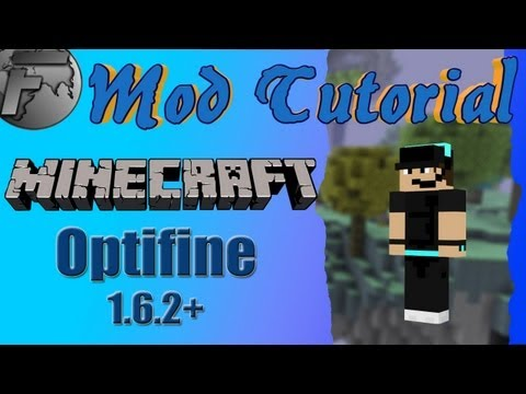 Minecraft Mod Tutorial - Optifine 1.6.2 installieren ohne Magic Launcher
