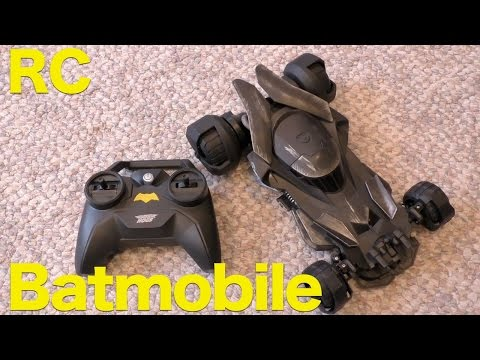Air Hogs RC Batmobile Review. Batman Vs SuperMan Movie Replica