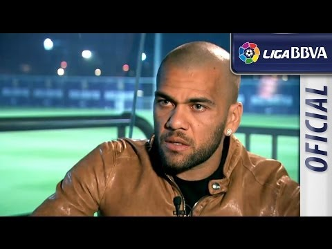 Interview with Dani Alves, FC Barcelona player