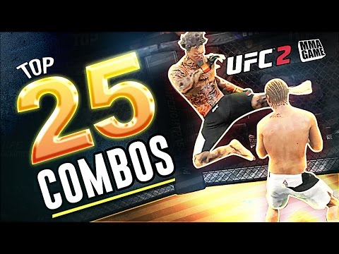 EA Sports UFC 2 - 25 HUGE Knockout COMBOS!