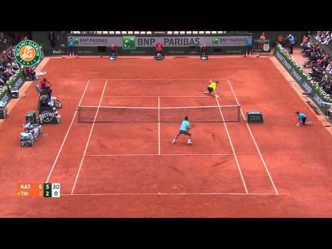 Roland Garros 2014 Thursday Highlights Nadal Thiem
