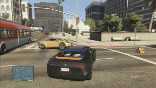 GTA 5: I Woke Up in a New Bugatti