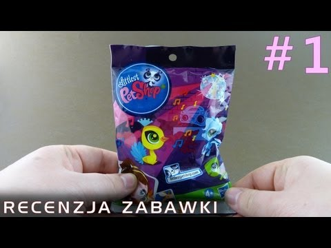 Tajemniczy Zwierzak Z Saszetki #1 - polska recenzja zabawki - Littlest Pet Shop Seria 8