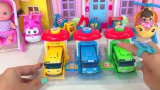 TOYS Pororo & TAYO BUS DEPOT Surprise Eggs